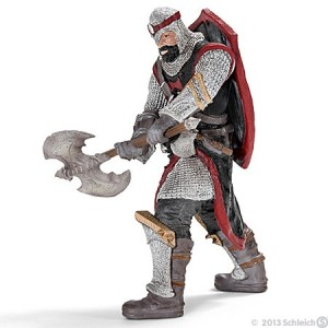 Dragon knight with axe